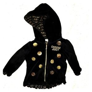 Juicy Couture hooded jacket 12 month